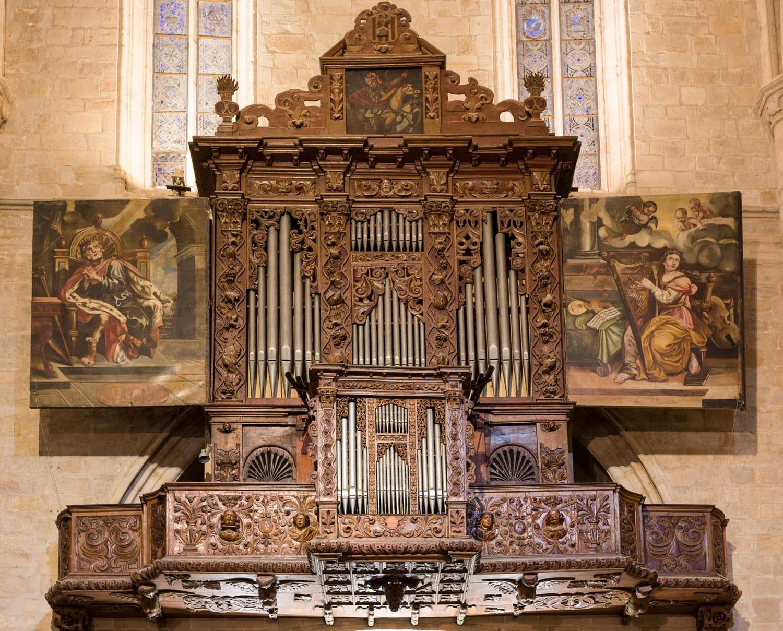 Orgue de Santa Maria de Montblanc