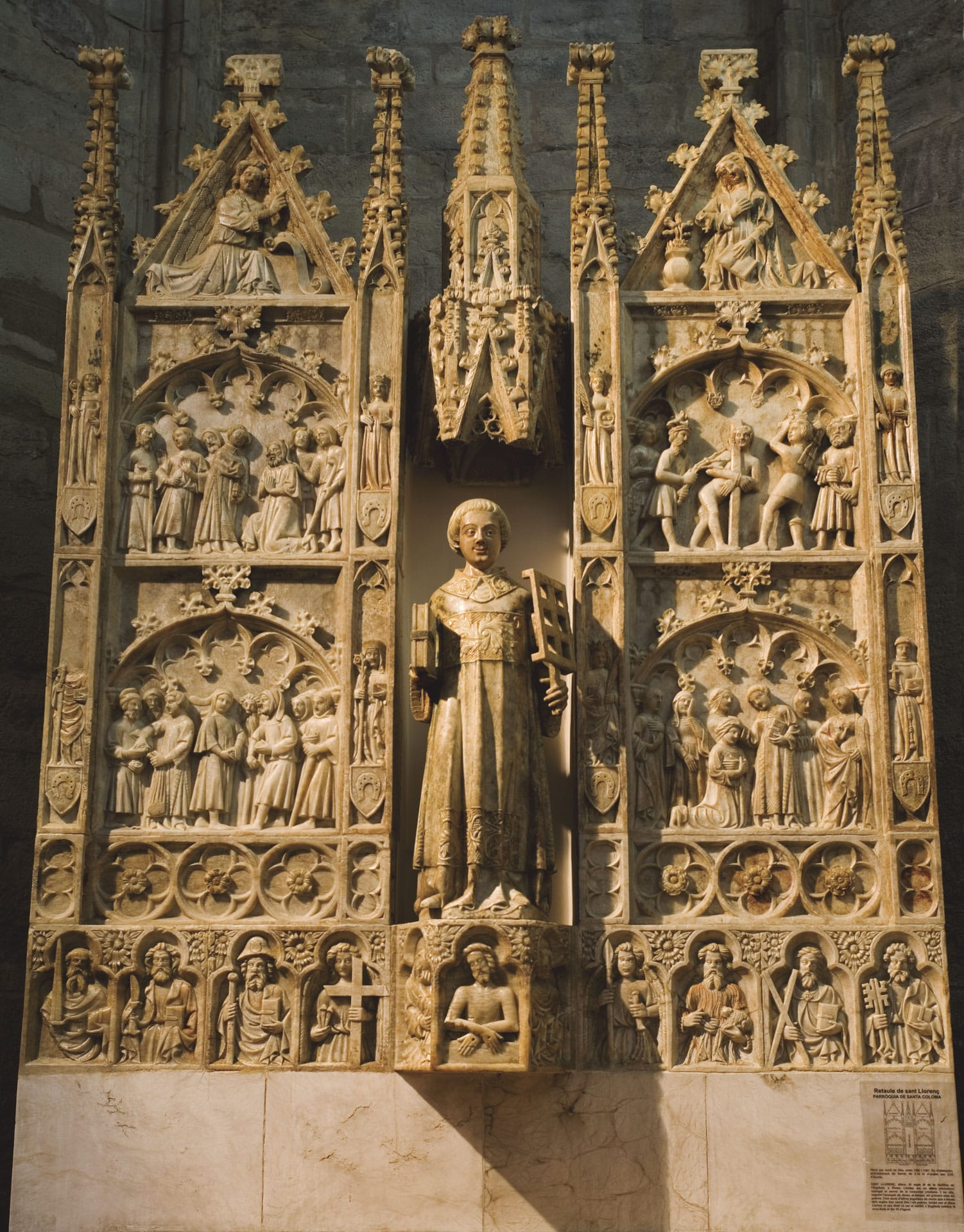 Retaule de Sant Llorenç de Santa Coloma de Queralt